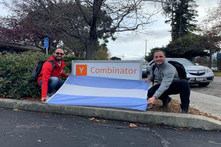 El proyecto lo inició Borchardt (izquierda) con US$50.000 y concluyó este mes su etapa de aceleración de la mano de Y Combinator, la aceleradora de emprendedores más grande del mundo