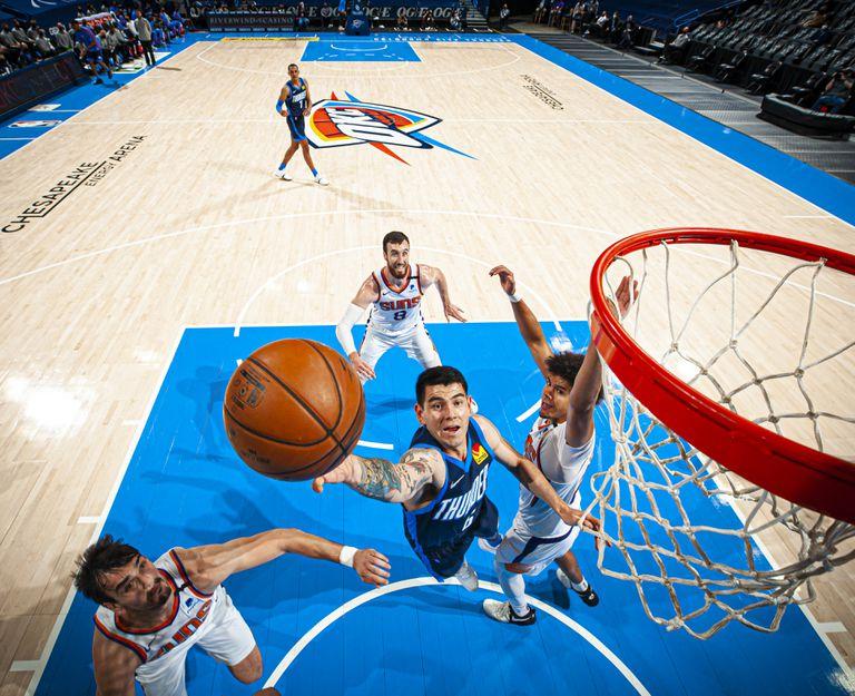 La noticia que Gabriel Deck más esperaba en la NBA con Oklahoma City Thunder