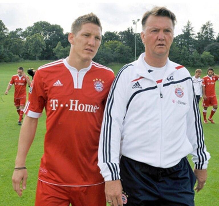 Schweinsteiger volverá a encontrarse con Van Gaal