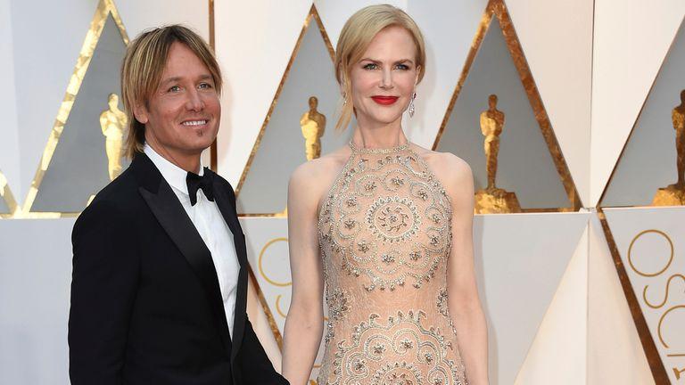 Nicole Kidman y su esposo, Keith Urban