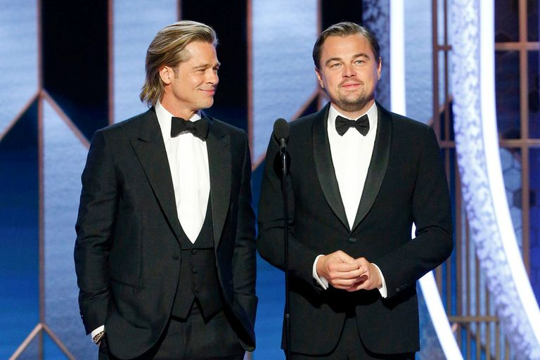 Globo de Oro: el chiste sobre Titanic que Brad Pitt le hizo a Leonardo DiCaprio