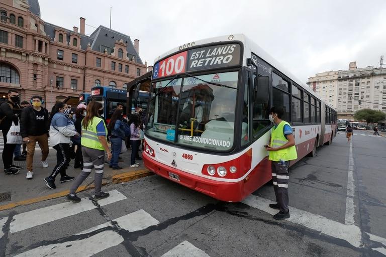Regreso a clases: operativo especial en el transporte público