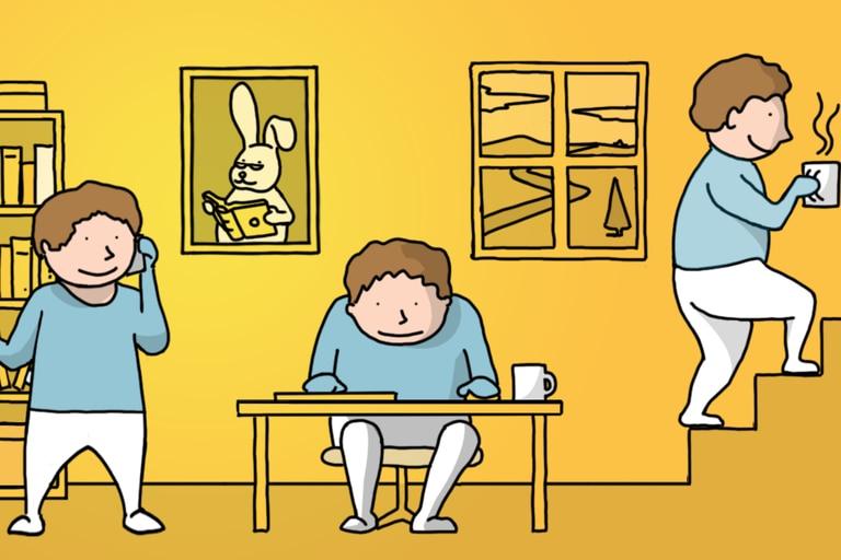 Los expertos recomiendan no sentarse en la misma posición durante mucho tiempo