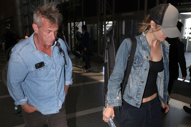 Sean Penn, infraganti con su novia de 27 años