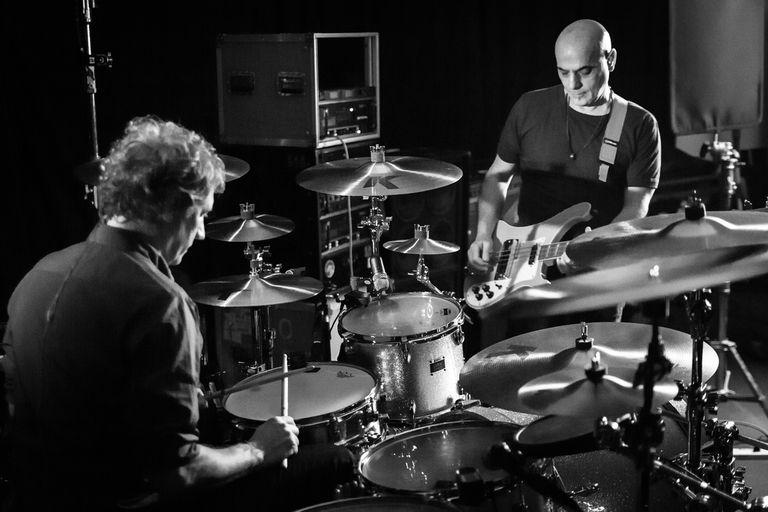 Zeta Bosio y Charly Alberti en la previa de la gira Gracias Totales - Soda Stereo