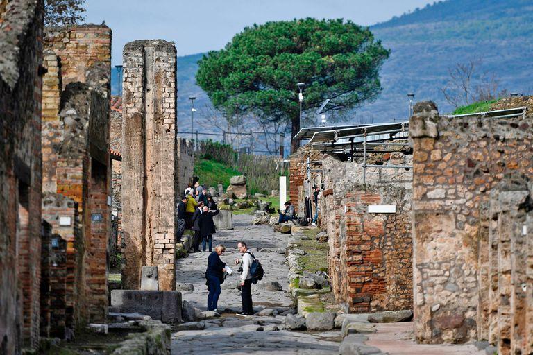 Hallazgo: descubren un graffiti que cambia lo que sabemos sobre Pompeya