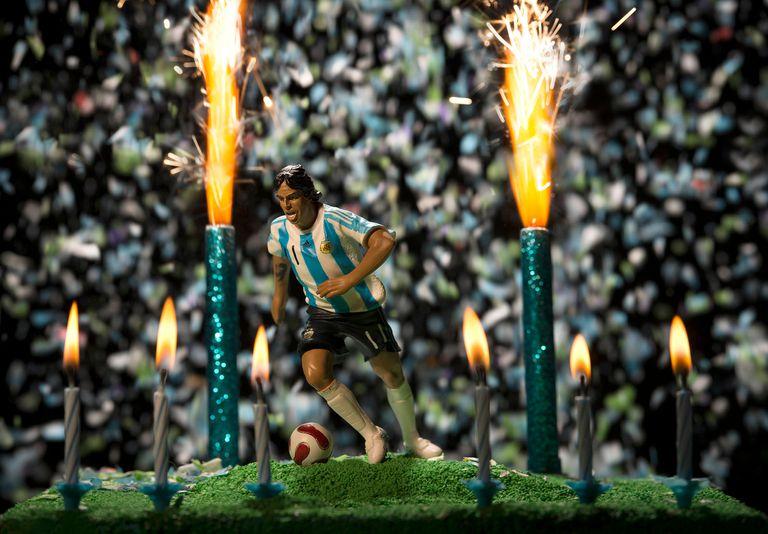 Feliz cumple, de Carlos Furman, primer premio adquisición en Fotografía del concurso Banco Nación Artes Visuales 2016