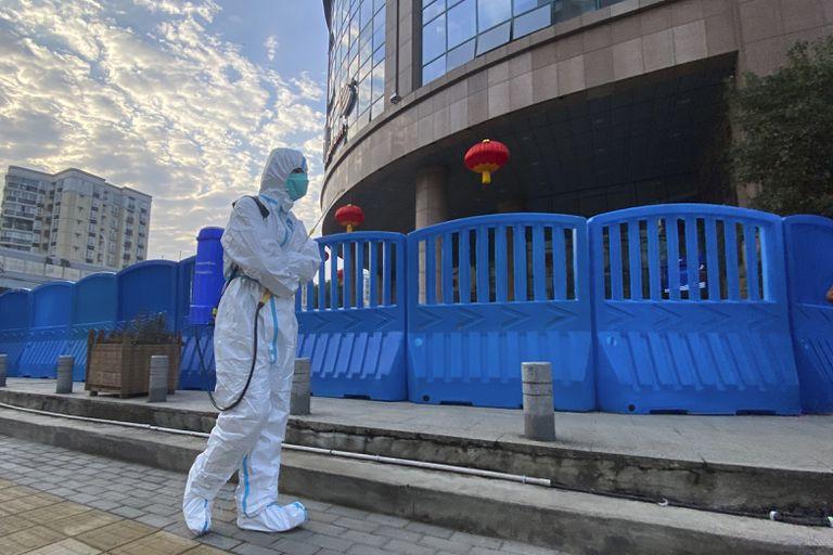 El Hospital Central de Wuhan, en China, donde sonaron las armas en los primeros días de la pandemia de coronavirus