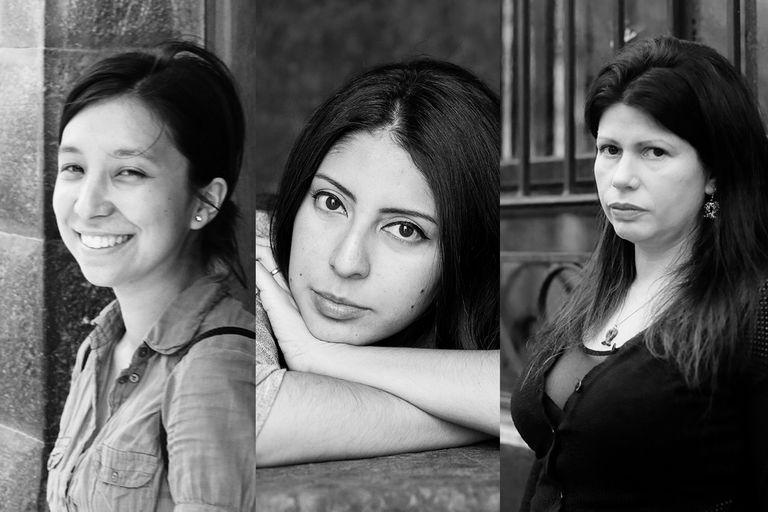 Virginia Higa, Mónica Ojeda, Dolores Reyes