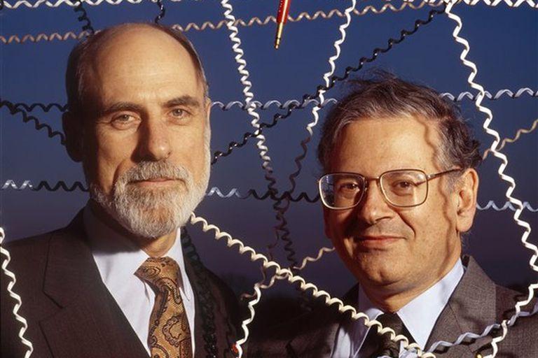 Vinton Cerf y Bob Kahn, creadores del protocolo TCP/IP