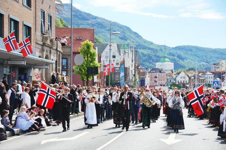 La desigualdad salarial en Noruega es menor que en la mayoría de los países occidentales desarrollados