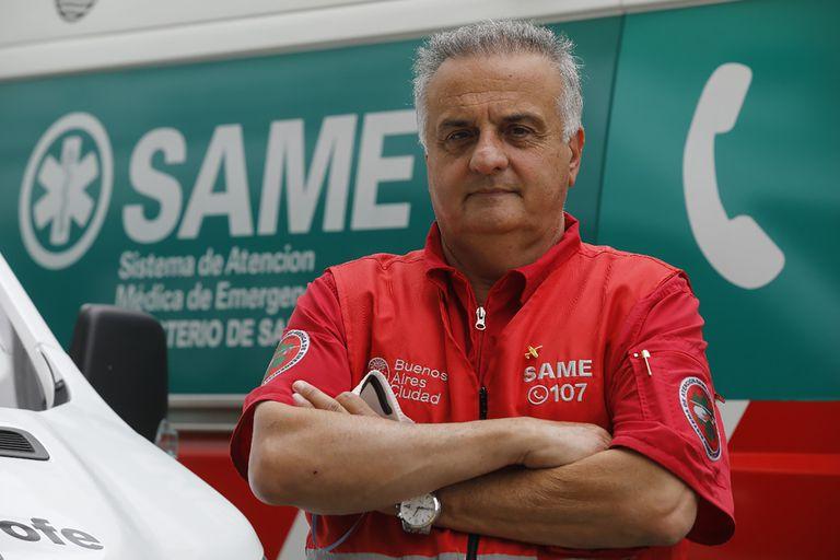 Alberto Crescenti, director del SAME