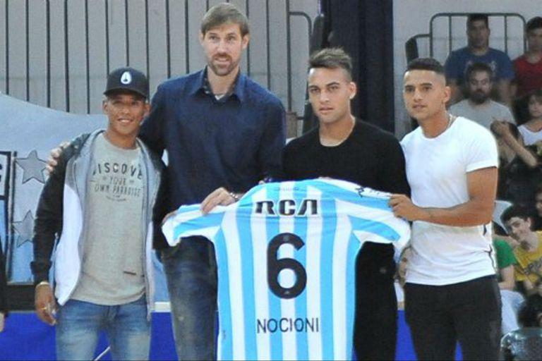 El homenaje de Racing a Nocioni: una tribuna del polideportivo llevará su nombre