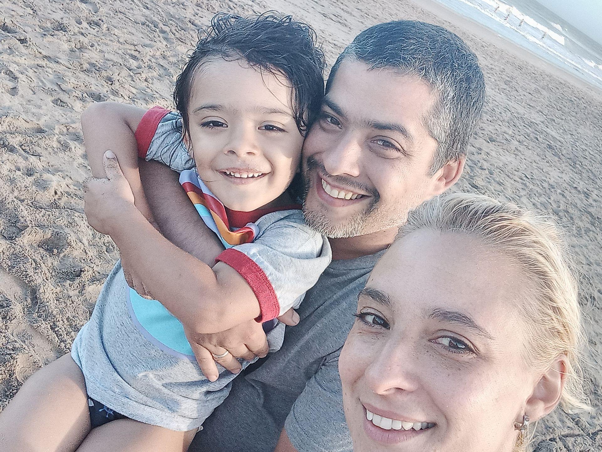 Paola Nadal y su familia dejaron Temperley y en enero se mudaron a Villa Gesell
