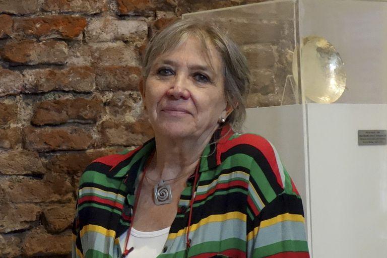 La artista cordobesa Anahí Cáceres es una de los ocho ganadores del Premio Nacional a la Trayectoria Artística