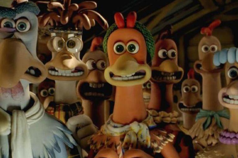 Pollitos en fuga dio a conocer el trabajo de los estudios británicos Aardman Animations