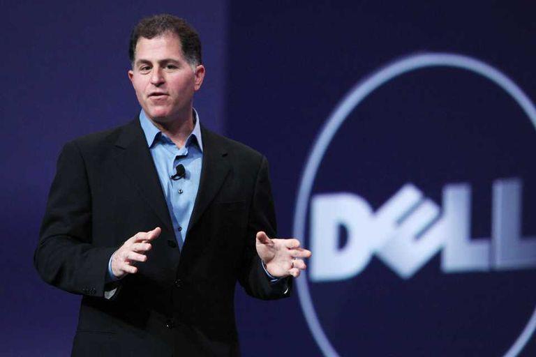 Michael Dell, CEO y confundador de la compañía que evalúa retirarse del mercado bursátil de la mano de Microsoft