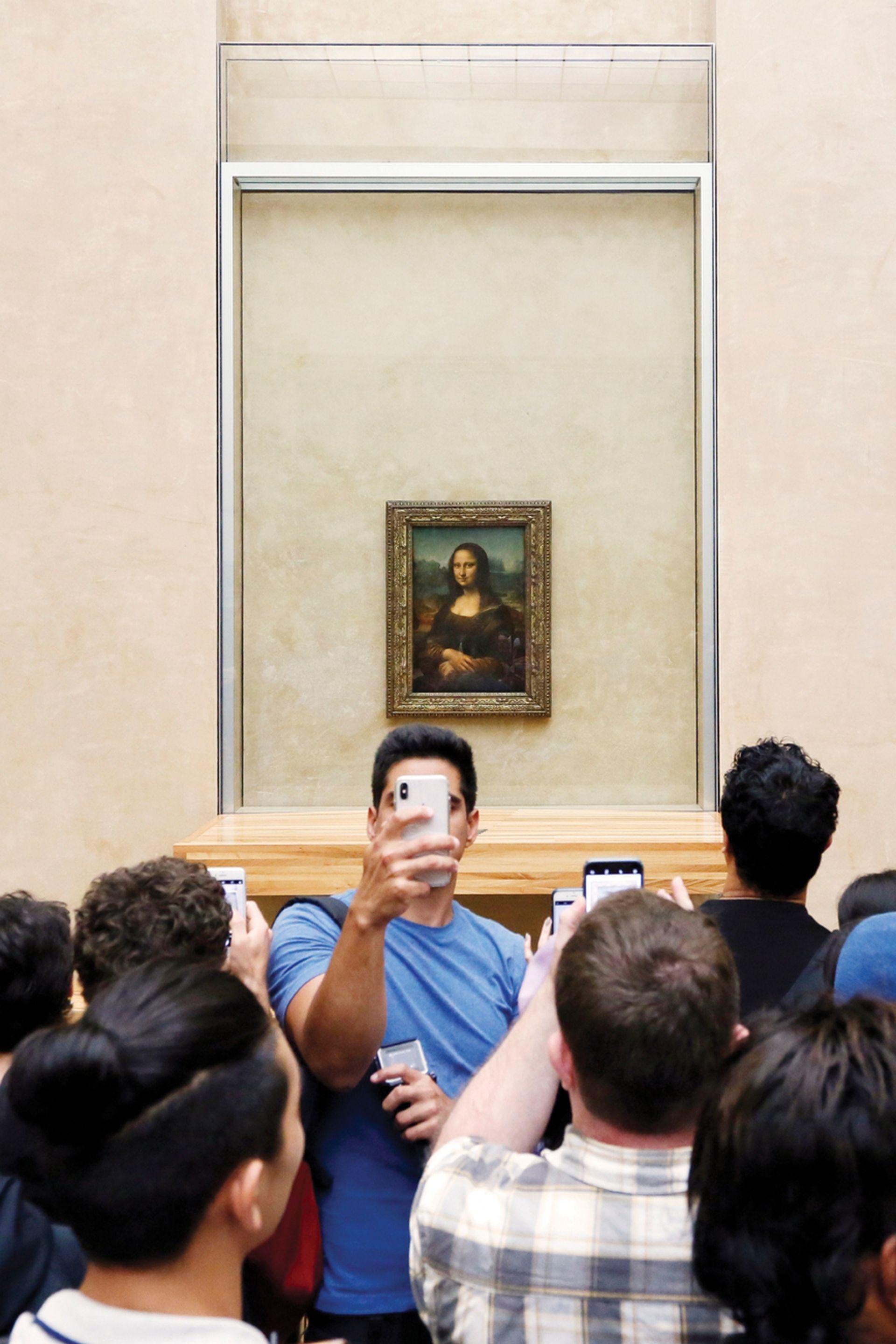En el Louvre, La Gioconda es el cuadro más visitado del mundo