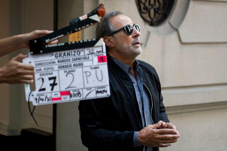Guillermo Francella actualmente está grabando su participación en la serie El encargado