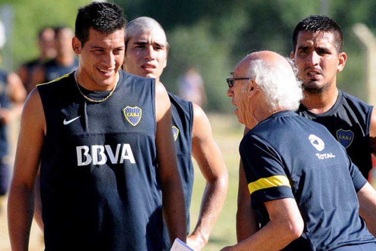 Chiqui Pérez, con Bianchi