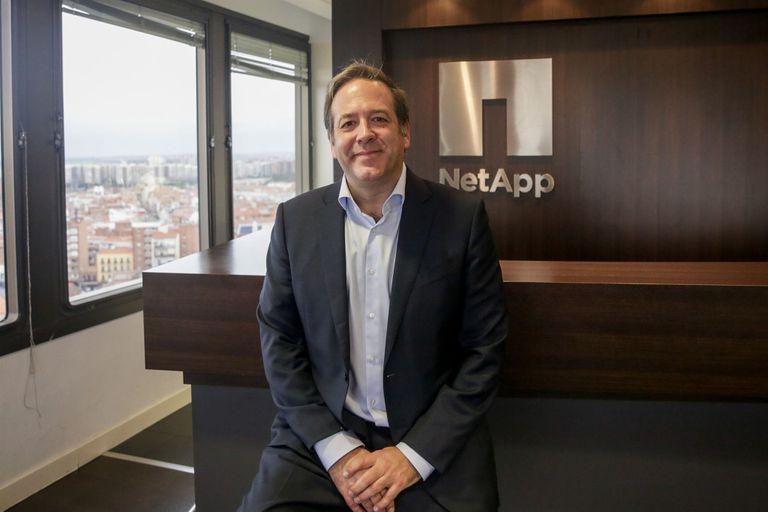 16-12-2019 Ignacio Villalgordo Castro, director general de NetApp para España ECONOMIA