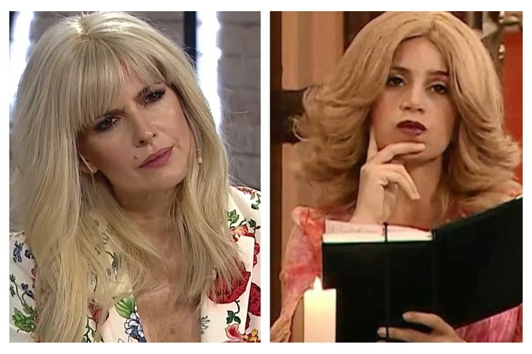 Isabel Macedo cambió su look y en los memes la compararon con Moni Argento