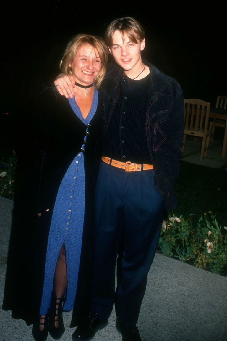 Leonardo DiCaprio ha habaldo en numerosas ocasiones de cómo su madre lo protegió cuando vivían en la pobreza de Los Ángeles