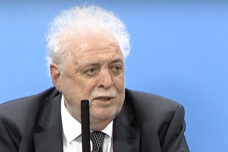 El ministro Ginés Gónzalez García