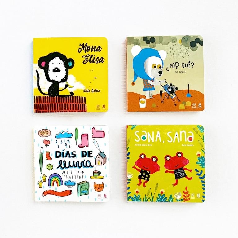 Cuatro títulos de la colección Crecer, de Gerbera y Lecturita