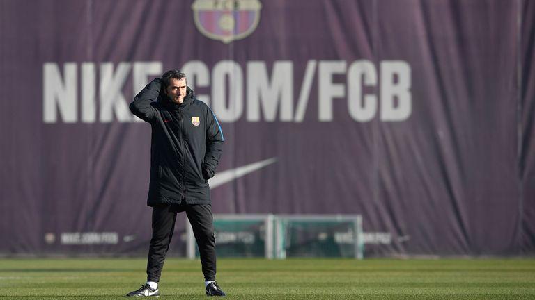 Valverde piensa en el clásico en Madrid
