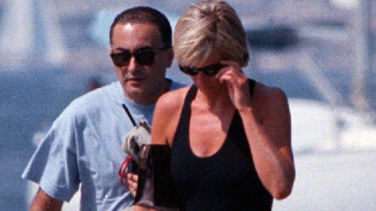 Pocos meses atrás, Lady Di y Dodi Al Fayed habían comenzado su relación