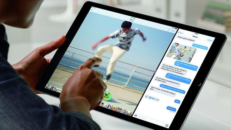 La iPad Pro tiene pantalla de 12,9 pulgadas con 5,6 millones de pixeles