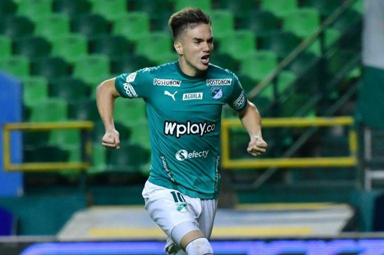 Agustin Palavecino, juega en Deportivo Cali desde 2019