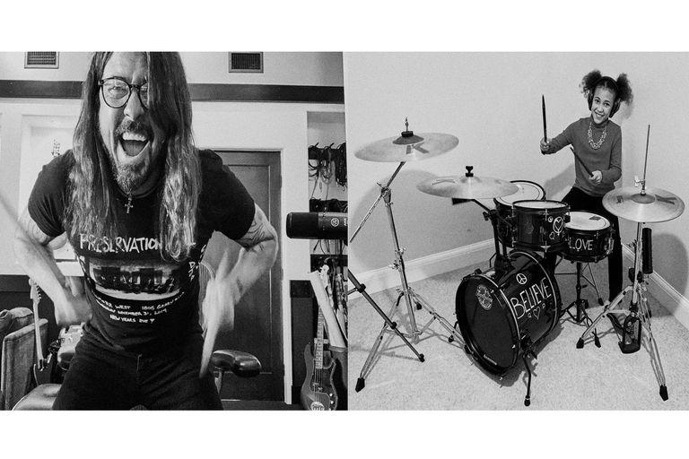 La increíble batalla virtual de canciones entre Dave Grohl y una nena prodigio