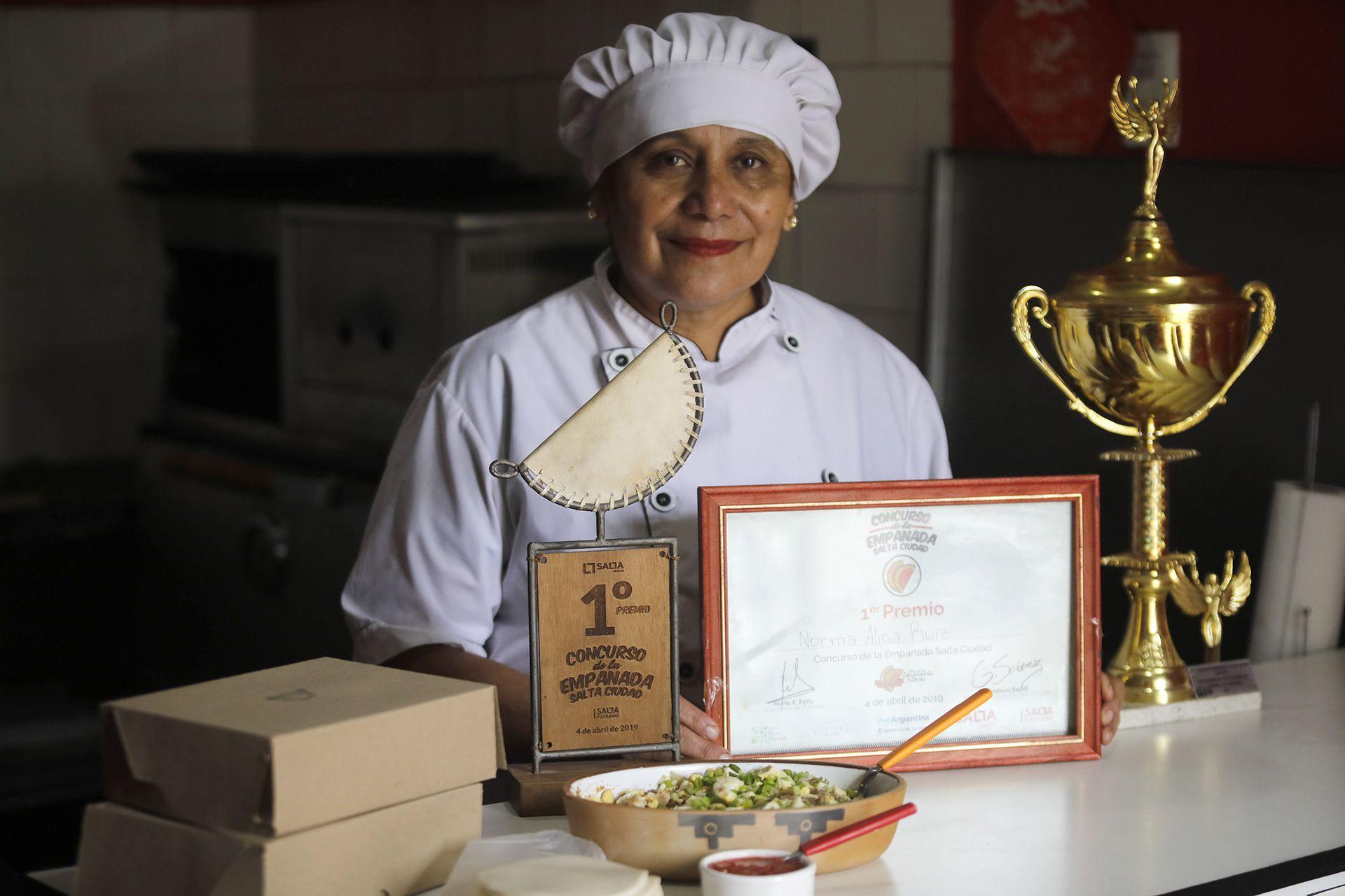 """""""Yo tenía un sueño: poder mostrar mis empanadas"""", dice Norma Ruiz"""