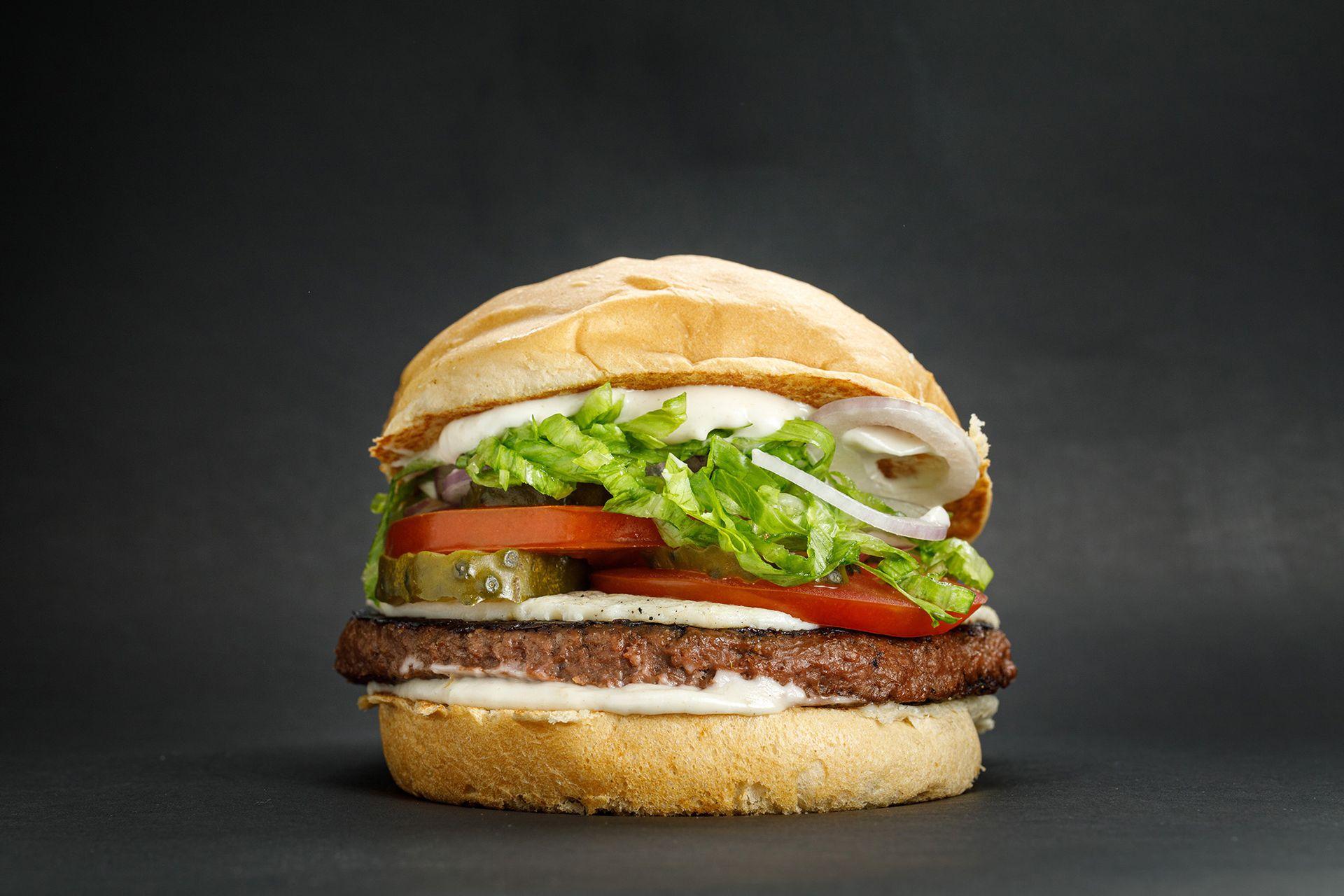 Not kevin, la burger plant based de Kevin Bacon