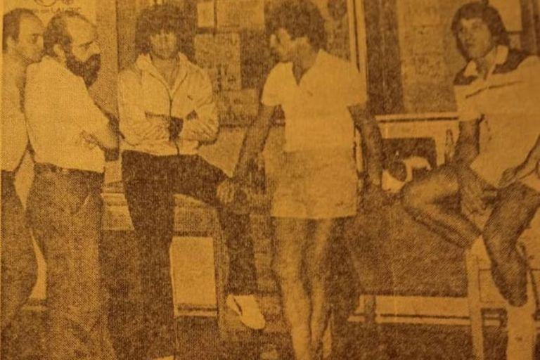 La foto de Pagani con el River campeón del 81 que sorprendió a sus seguidores
