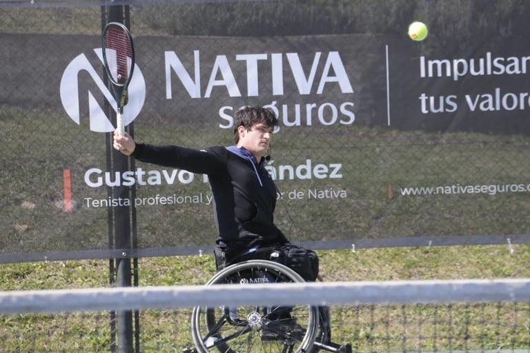 Gusti Fernández: busca un salto de calidad inspirado en Manu Ginóbili