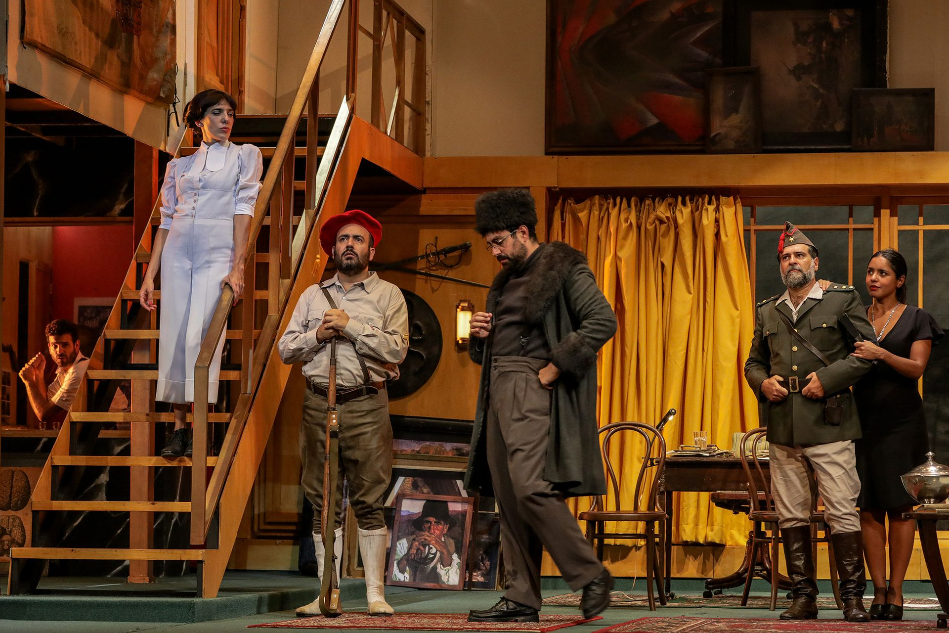 La terquedad, de Rafael Spregelburd y un notable elenco, fue uno de los tantos espectáculos que, en la historia de sala, se dio el lujo de poner su cartel de entradas agotadas