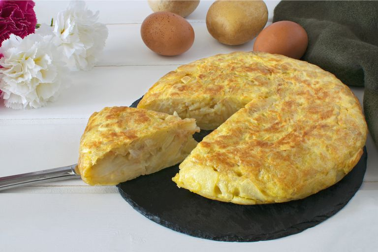 Tortilla de papa, la original
