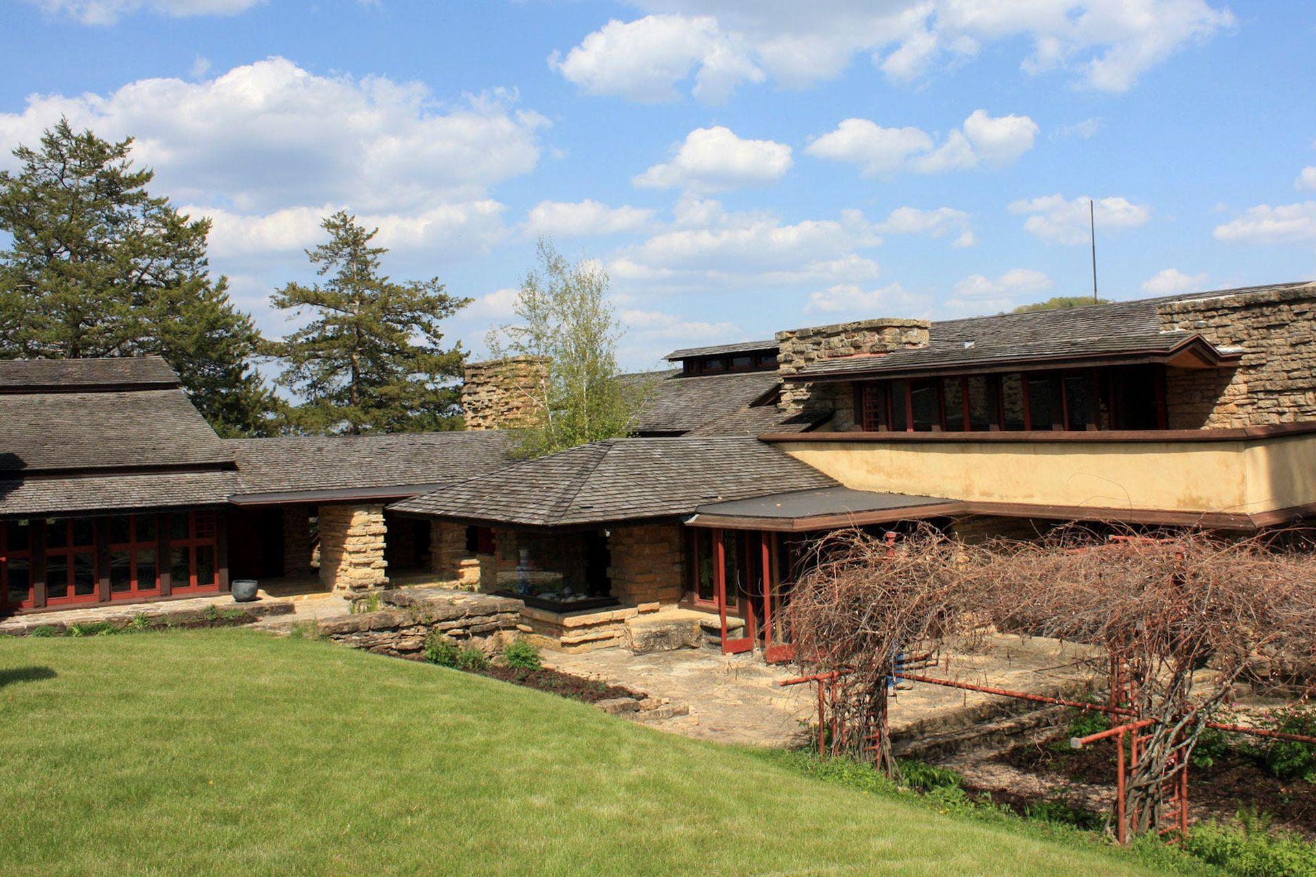 Taliesin fue construida con el modelo de arquitectura orgánica
