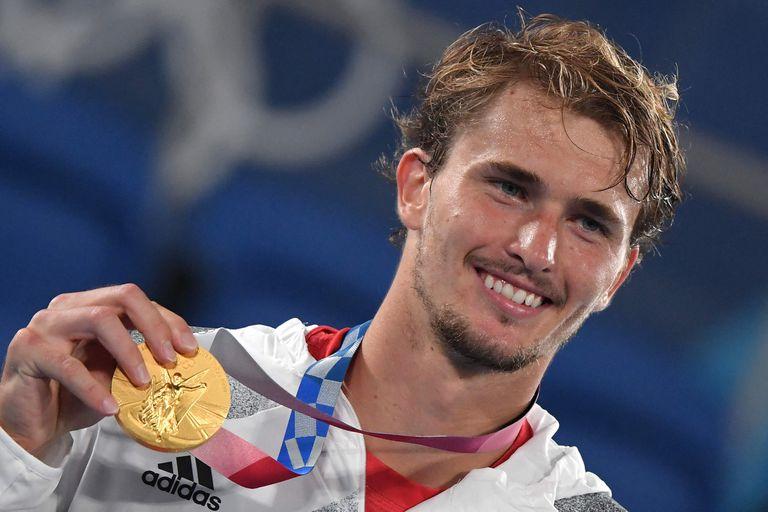 """Zverev, tras los pasos de Graf: ganó el oro olímpico en """"la mejor semana"""" de su vida"""