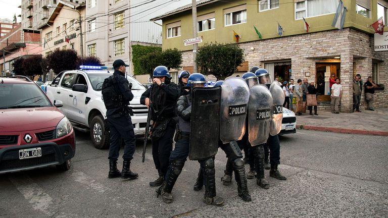 La muerte del mapuche generó protestas en Bariloche