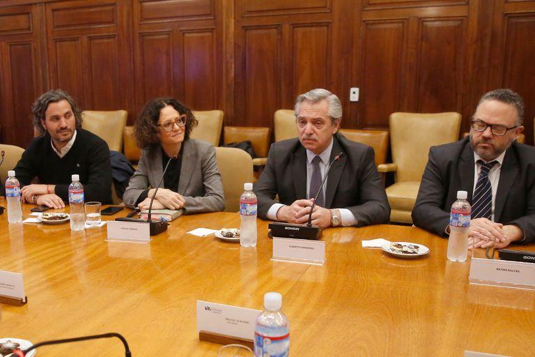 La intención de Alberto Fernández es que la triple emergencia económica, sanitaria y alimentaria se apruebe antes de fin de año