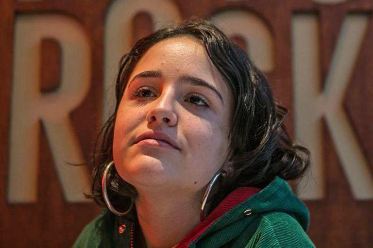La militante feminista Ofelia Fernández ocupa el tercer casillero en la boleta del Frente de Todos
