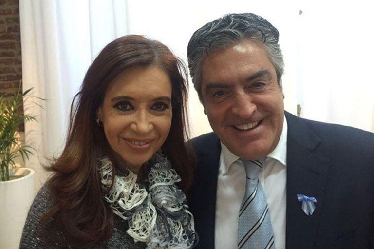 Cristina Kirchner junto a su abogado, Gregorio Dalbón