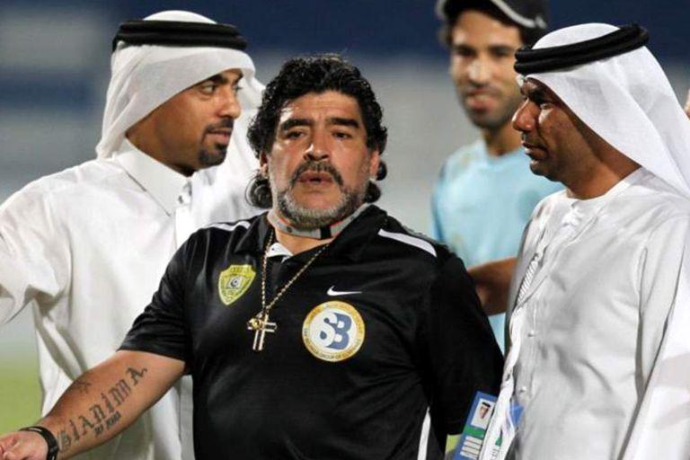 """La guerra por la marca """"Maradona"""": los documentos en árabe y la batalla que viene"""