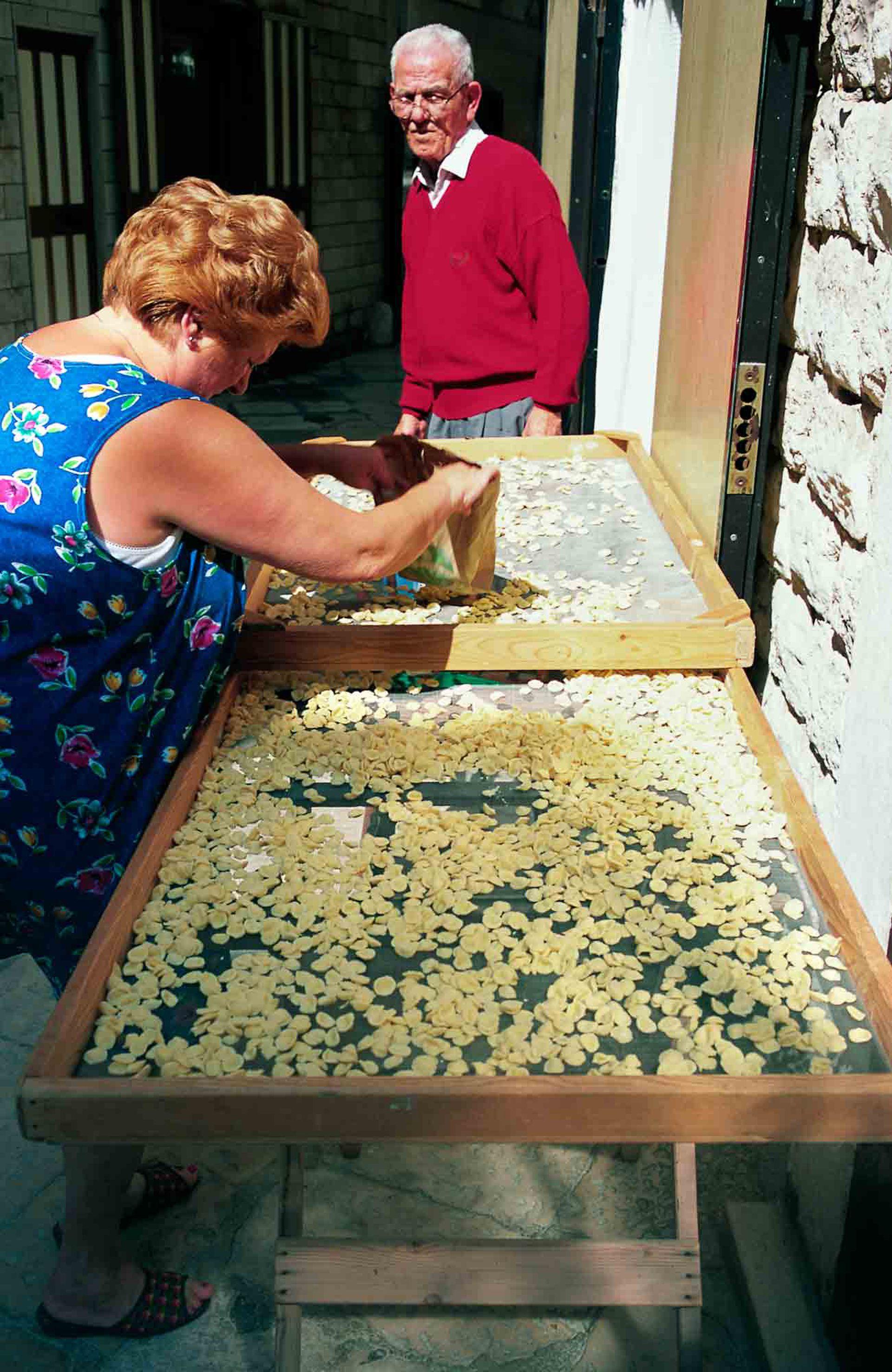 La de la Puglia es una cocina del sol y de estación, muy local.