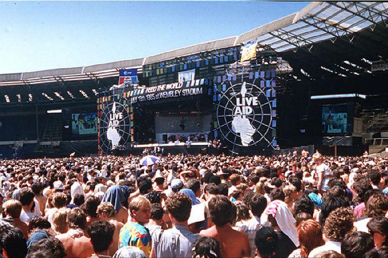 Hoy se celebra el Día Mundial del Rock, originado por el concierto multitudinario Live Aid