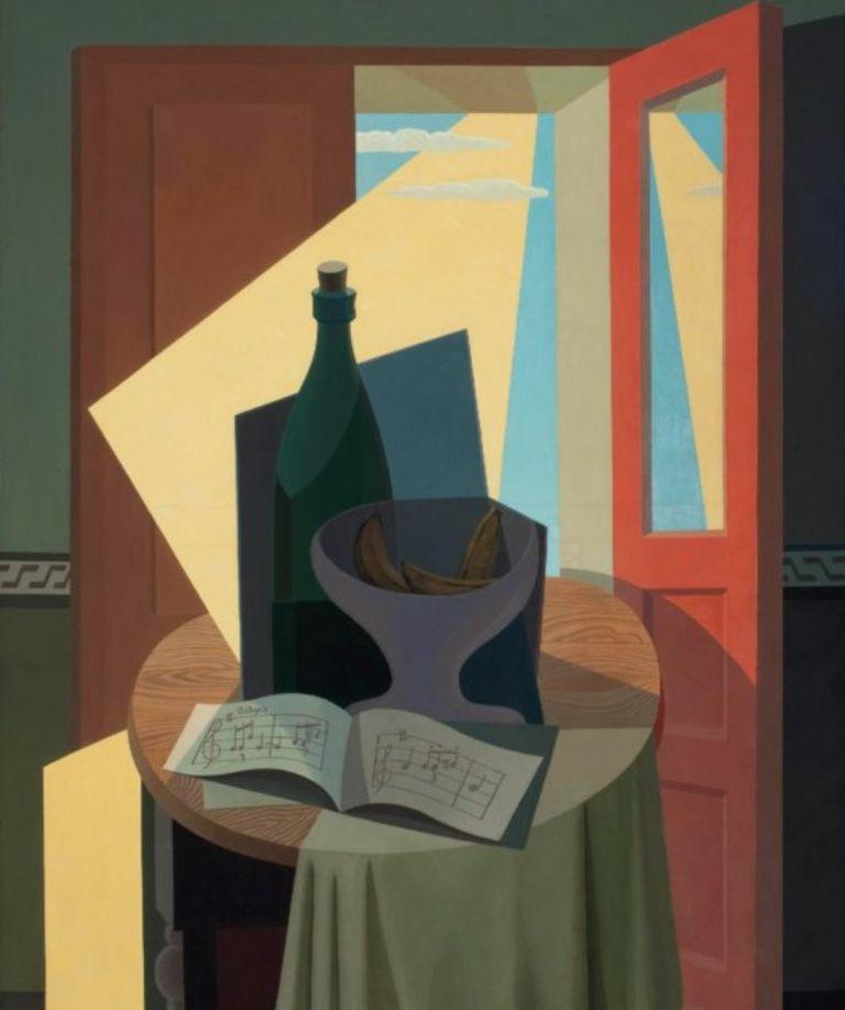 """Detalle de """"Concierto"""" (1941), de Emilio Pettoruti, vendida en Christie's (NY) en mayo de 2012 por 794.500 dólares"""